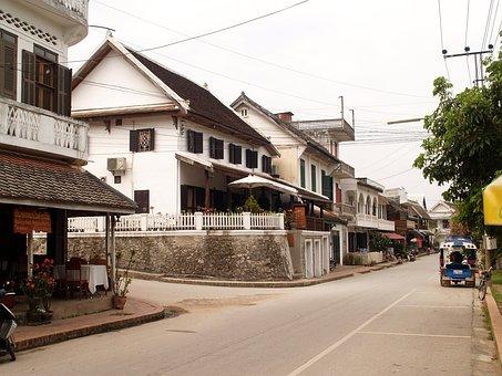 Luang Prabang, Laos, Town, Phabang, Asia, City