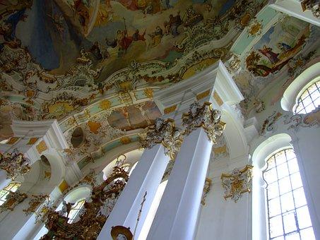 Church, Pilgrimage Church, Pilgrimage Church Of Wies