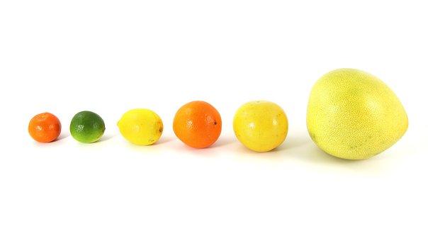 Fruit, Food, Citrus, Pomelo, Grapefruit, Orange, Lemon