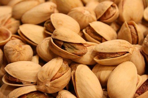 Pistachios, Nuts, Snack, Nutshells, Market, Delicious