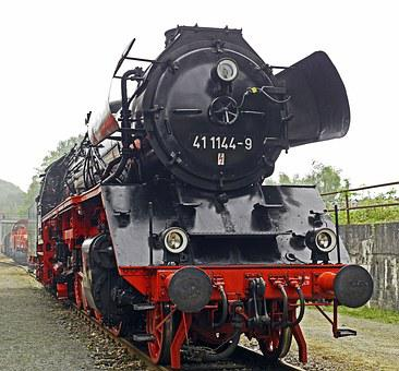 Steam Locomotive, Goods Train Locomotive, Exhibition