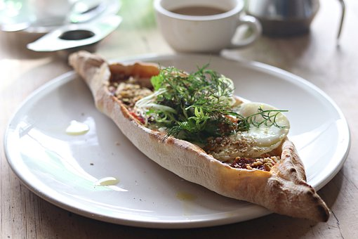 Turkish Pide, Breakfast, Food, Tea