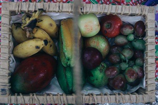 Fruit, Basket, Food, Harvest, Autumn