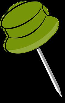 Drawing-Pin, Pushpin, Push Pin, Tag