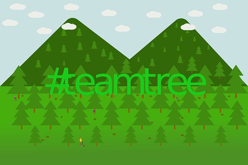 Teamtrees, Save Earth, Teamtree, Save Forest
