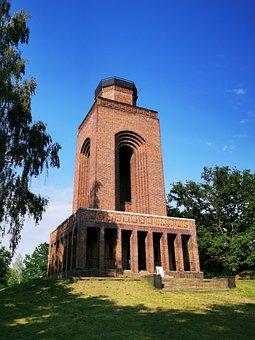 Bismarckturm, Castle, Spreewald, Bismarck-monument