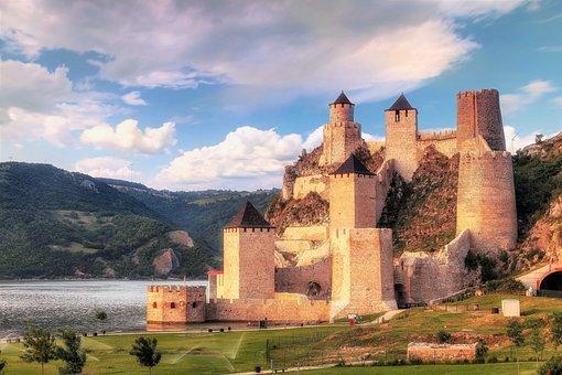 Serbia, Golubac, Golubac Fortress, Djerdap, Old, Travel