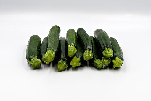 Zucchini, Green, Vegetables, Costs, Food, Bio, Kitchen