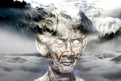 Landscape, Man, Thoughtful, Depression