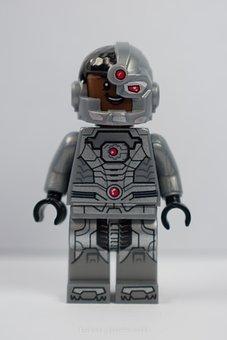 Lego, Minifiguka, Lego Teen Titans, Cyclops, Pads