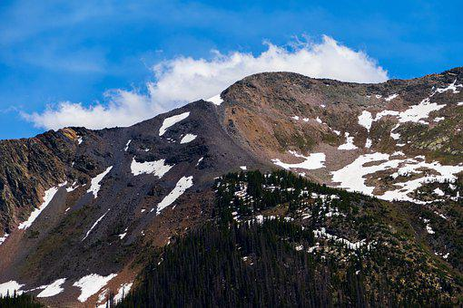 Mountain, View, Snow, Rocky, Peak, Landscape, Nature