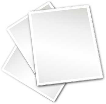 Three, Paper, White, Clear, Tablet, Blank