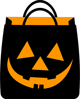 Halloween, Shopping, Bag, Black Shopping, Black Shop