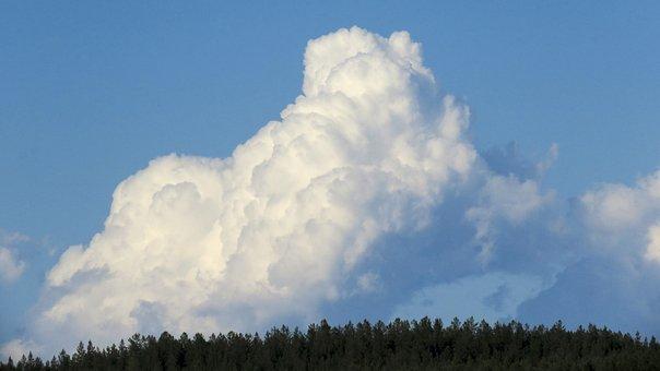 Cloud, Sky, Blue, Nature, Atmosphere