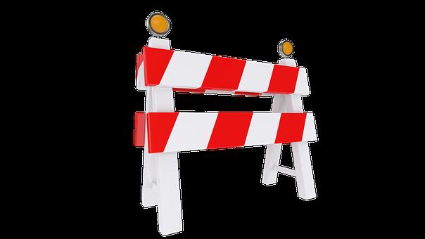 Repair, Road, Fence, Work, Travel