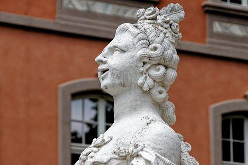 Sculpture, Figure, Statue, Art, Woman, History, Stone