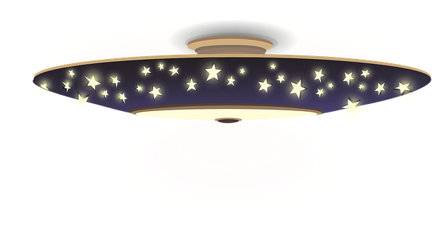Lights, Lamps, Blue, Stars, Patterns, Designs, Hanging