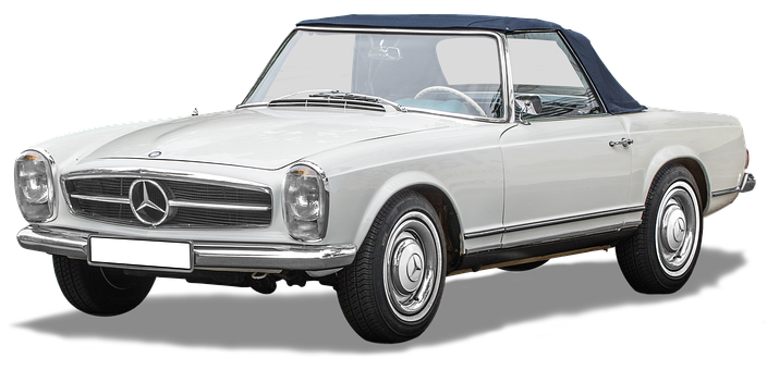 Mercedes-benz 230sl, Pagoda, Vintage 1963-1967