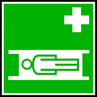 Sign, Stretcher, Ambulance, Medical, Aid, Hospital