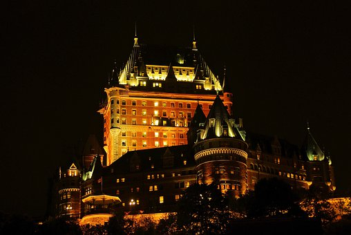 Canada, Quebec, Frontenac, Castle, Scenic, Hotel