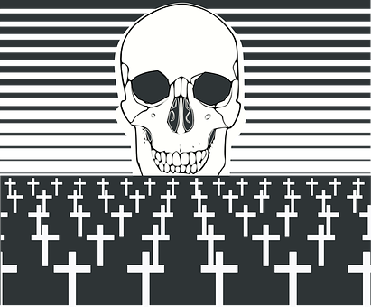 Cemetery, Death, Tombs, Plague, Grave, Gravestone