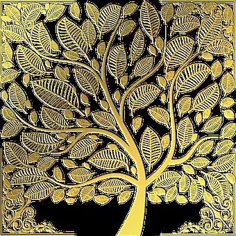 Tree, Tree Of Life, Frame, Spiritual, Metaphysical