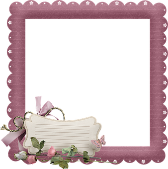 Paper Frame, Note Paper, Scrapbooking