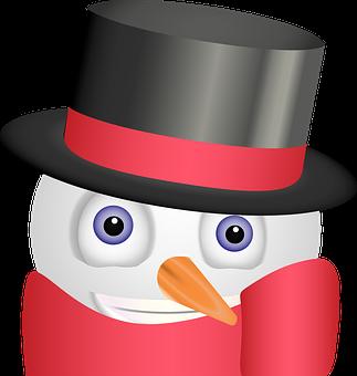 Graphic, Snowman Emoji, Snowman Smiley, Emoji, Smiley