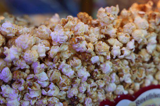 Popcorn, Food, Snack, Eat, Movie, Tasty, Entertainment