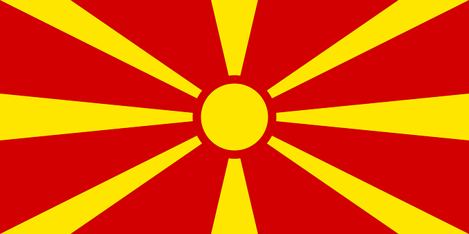 Flag Republic Of Macedonia, Official