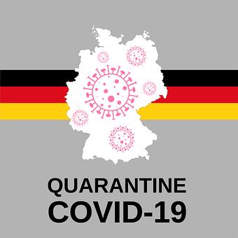 Germany, Flag, German, Europe, State, Virus