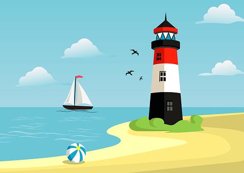 Sea, Beach, Holidays, Summer, Water, Sand, Boat