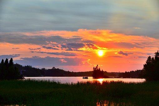Sunset, Landscape, Nature, Sky, Colors, Travel, Holiday