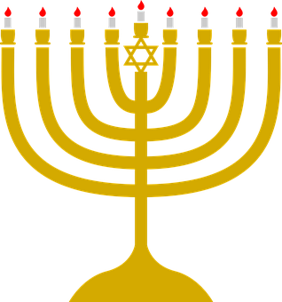 Hanukkah, Light, Candle, Judaism, Symbol, Traditional
