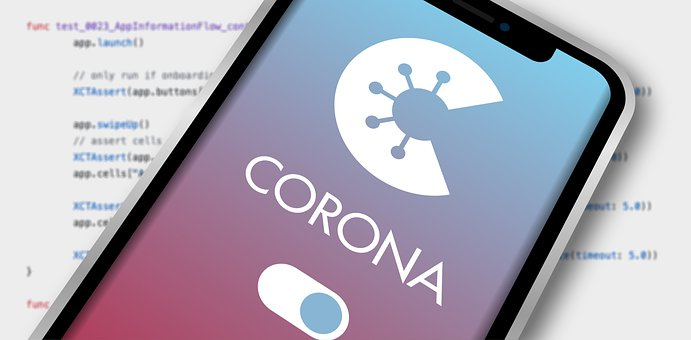 Corona-warning-app, Smartphone, Code, Iphone