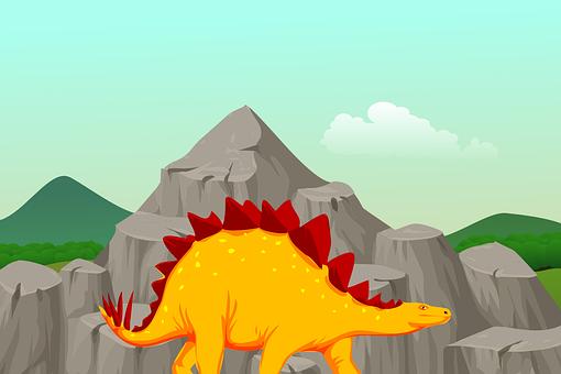 Stegosaurus, Dinosaur, Animal, Jurassic, Extinct, Dino