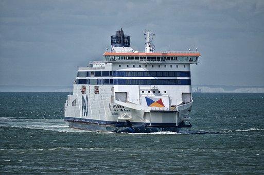 Ferry, England, Sea, Boat, Uk, Transport, Travel, Dover
