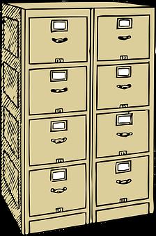 Filing, Cabinet, Office, Furniture, File, Storage