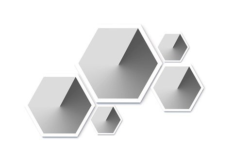 Combs, Honeycomb Form, Hexagon, Form