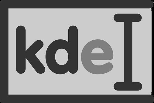 Kde, Linux, Text, Type, Letters, Write, Box, Cursor
