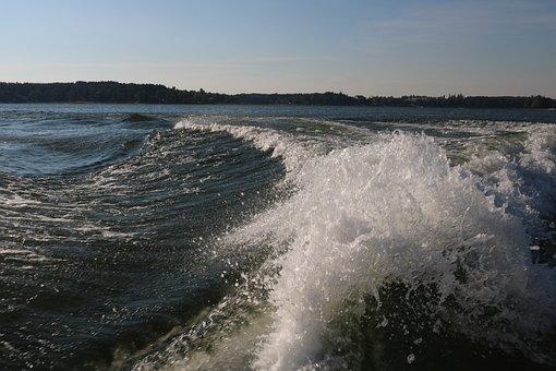 Wave, Sea, Lake, Beach, Water, Nature, Summer, Foam