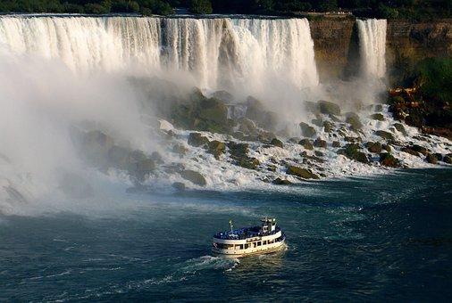 Niagara Falls, Maid Of The Mist, Canada, Ontario