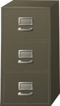 Filing Cabinet, Storage, Cabinet, Business, Office