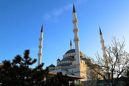Cami, Minaret, Islam, Religion, Architecture, Building