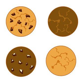 Cookies, Food, Dessert, Biscuits, Sprite Sheet, Icon