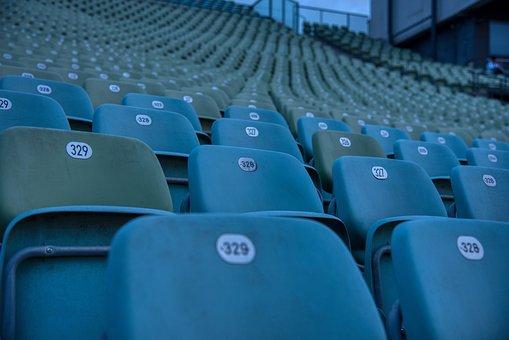Lake Stage, Grandstand, Spectator Seats, Empty, Corona