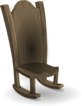 Chairs, Wooden, Brown, Woody, Furniture, Swinging