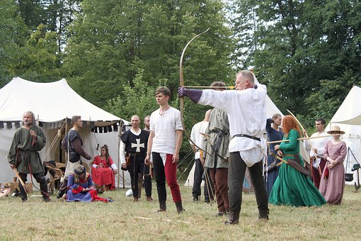Archer, Festival, The Medieval, Shooting, Games, Bow