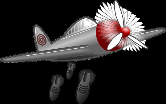 Air Raid, Bombing Raid, Bomber, Bomb