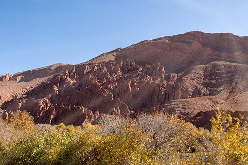 Morocco, Africa, Dades, Monkey Paw Mountains, Monkey